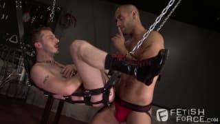 Chris Yosef i Leo Forte - hard fisting