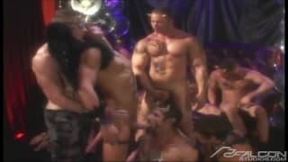 Colby Taylor i inni geje na ostrej orgii