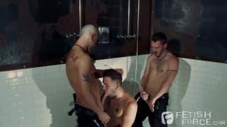 Tony, Chris i Preston mocno obciągają