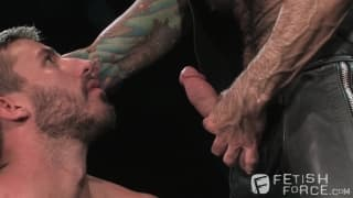 Nick Moretti i Logan Scott , scena BDSM