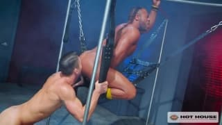 Micah Brandt i Ryan Rose, anal z BDSM!