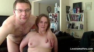 Pierwsze porno video tej dojrzałej pary!