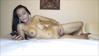 Gina - duże cycki i walenie trans chuja