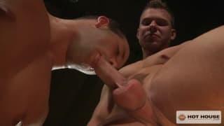 Luke Adams i Owen Michaels, obciąganie