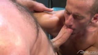 Zane Jacobs i Josh West, lizanie i anal