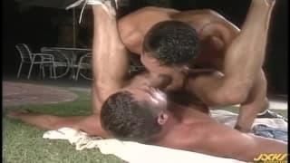 Vince Bandero w 6na9 z Blake Harperem