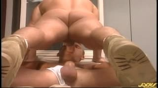 Brian Maxx i Chris Champion, masturbacja